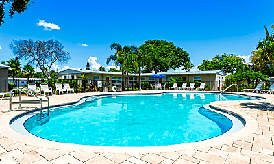 Pool, Woodlawn Park Apartments, 2
