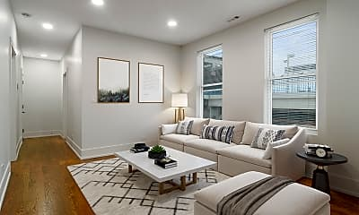 Living Room, 1719 W 18th St, 1