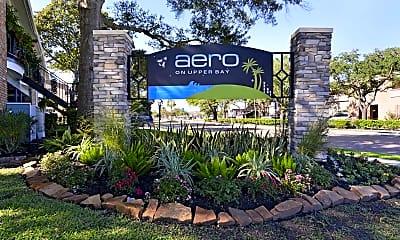Community Signage, Aero on Upper Bay, 1