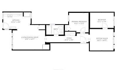 Living Room, 3147 W Lyndale St, 2