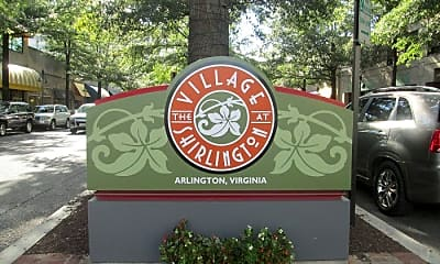 Community Signage, 4193 S Four Mile Run Dr 303, 2