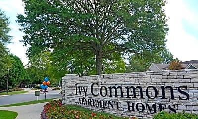 Community Signage, Ivy Commons, 2
