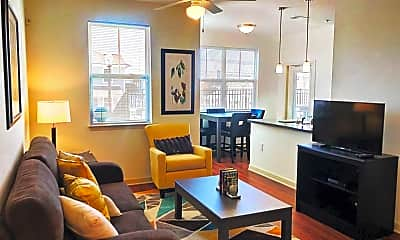 Living Room, Lofts at Southside, 1
