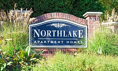 Community Signage, Northlake Apartments, 2