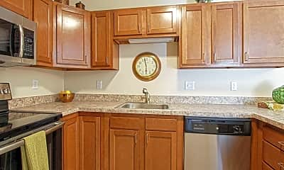 Kitchen, Southpark Square Senior Apartments, 1