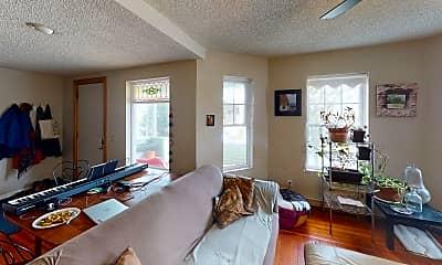 Living Room, 27 Princeton Street, Unit 1, 1