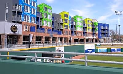 Building, The Outfield at Lansing Lugnut Stadium, 1