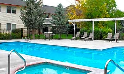 Pool, Orchard Place Apartments, 2