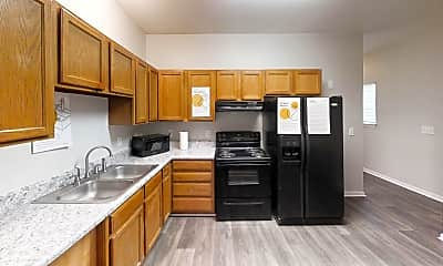 Kitchen, Room for Rent -  a 5 minute walk to bus 51, 0