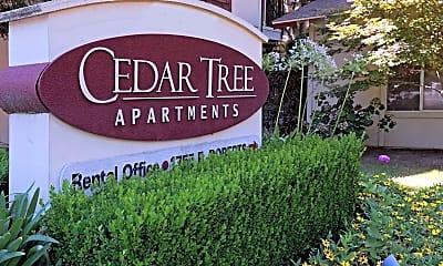 Community Signage, Cedar Tree II Apartments, 2