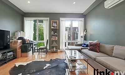 Living Room, 148 W 121st St, 1