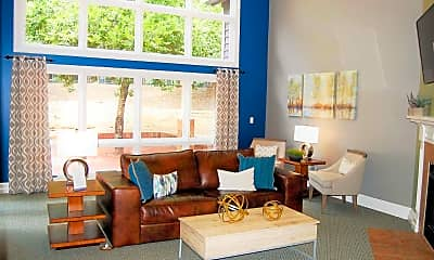 Living Room, The Pointe at Irving Park, 1