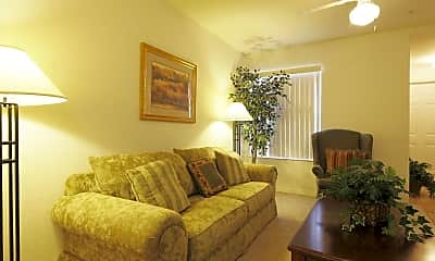 Living Room, Brittany Bay Apartments, 1