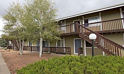 Building, Ponderosa Park Apartments, 0