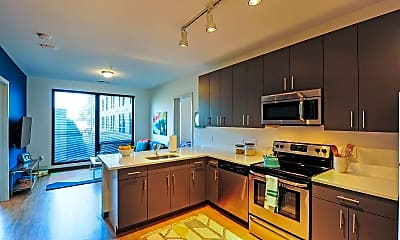 Kitchen, Lark on Main, 1