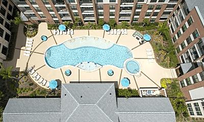 Pool, 1300 North Post Oak, 2