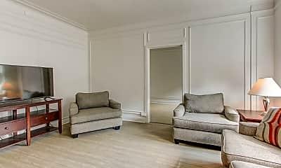 Living Room, Fenway Manor, 1
