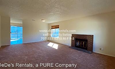 Living Room, 2426 San Joaquin Court, 1