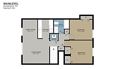 Bedroom, 2940 Vineland Ave SE, 2