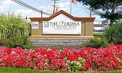 Community Signage, The Verona at Suitland Metro, 2