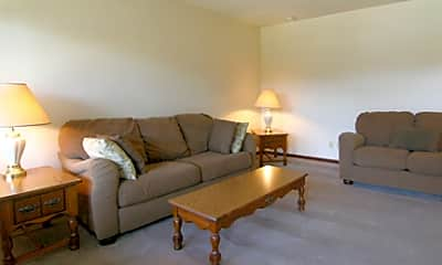 Living Room, 3013 Woodland Ave, 1