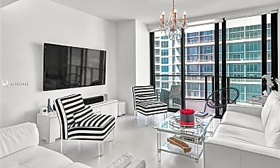 Living Room, 1300 S Miami Ave 3007, 2