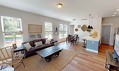 Living Room, Chandler Commons Townhomes, 0