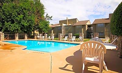 Pool, Landry Apartments, 2
