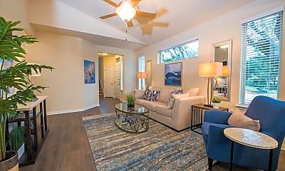 Living Room, 6607 Lake Woodlands, 0