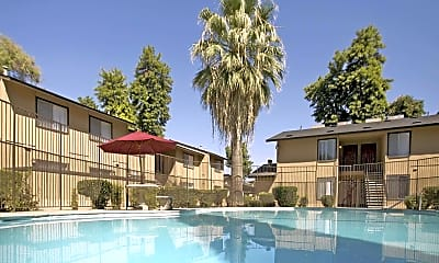 Pool, Canyon Del Sol Apartments, 1