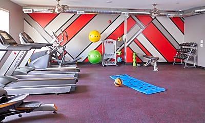Fitness Weight Room, VUE, 2