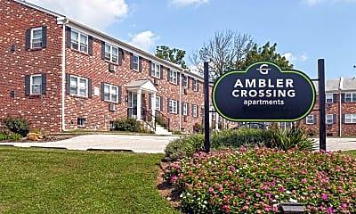 Community Signage, Ambler Crossing, 2