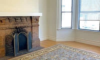 Living Room, 1654 Sanchez St, 1