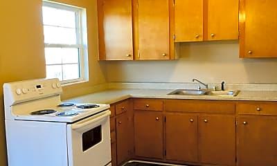Kitchen, Colonial Terrace, 2