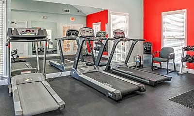 Fitness Weight Room, Turtle Place Apartments, 1