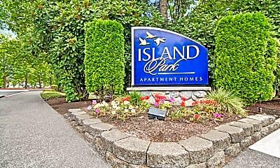 Community Signage, Island Park, 2