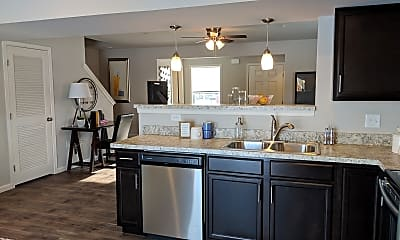 Kitchen, Keystone Arms, 1