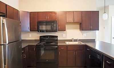 Kitchen, West Towne Flats, 1