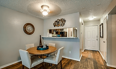 Dining Room, Westmoor Apartments, 2