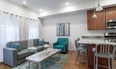 Living Room, 126 Union Park St, 1