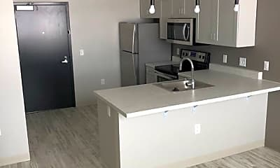 Kitchen, Leo and Al Apartments, 1