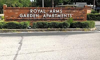 Royal Arms Apartments, 1