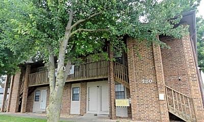 Building, 720 Kimbrough Apartments, 1