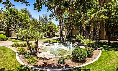 Courtyard, Palms on Scottsdale II, 2