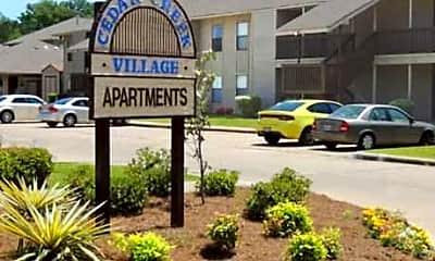 Community Signage, Cedar Creek Village Apartments, 2