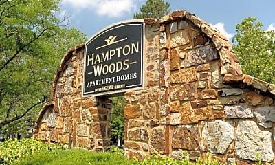 Community Signage, Hampton Woods, 0