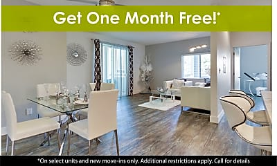 Dining Room, Solace Apartment Homes, 0