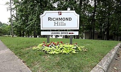 Community Signage, Richmond Hills Apartments, 2