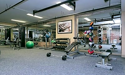 Fitness Weight Room, The Greenehouse, 1