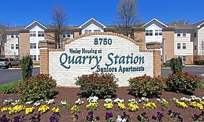 Community Signage, Quarry Station Senior Apartments - 55+, 2